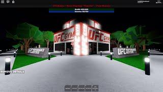 Roblox UFC light matwork