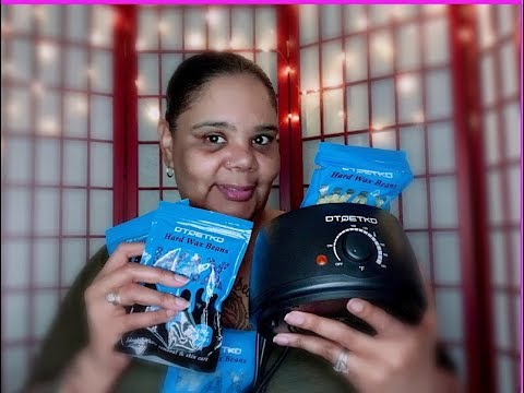 Hard Bean Wax Warmer Unboxing & Test