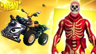 *ANOTHER* SKULL TROOPER Skin, NEW QUADCRASHER ATV and Fortnite on ANDROID!
