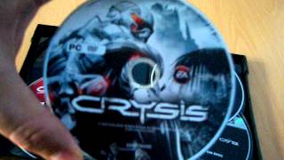 Unboxing: Crysis Maximum Edition for PC