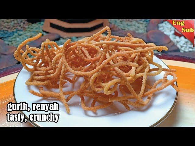 Resep Camilan Gurih Dan Renyah I Resep Muruku Khas India I Murukku Recipe Home Cooking Youtube