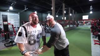 Ben Pakulski Back Workout with Kris Gethin MI40 Gym