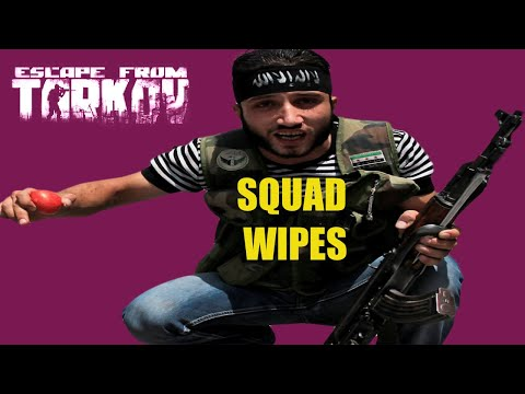 SQUAD WIPES !!! Escape From Tarkov