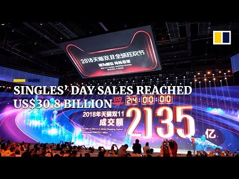 Alibaba's Singles' Day (11.11) sales begin in China