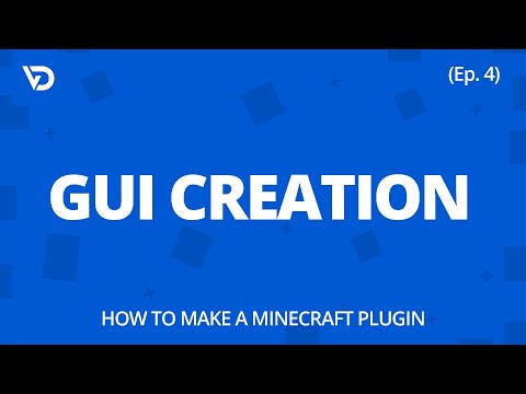 How To Make A Minecraft Plugin | GUI Creation (Ep. 4)