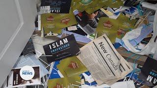Baitul Kareem Mosque Cambridge, Ont , vandalized in 'act of hate'