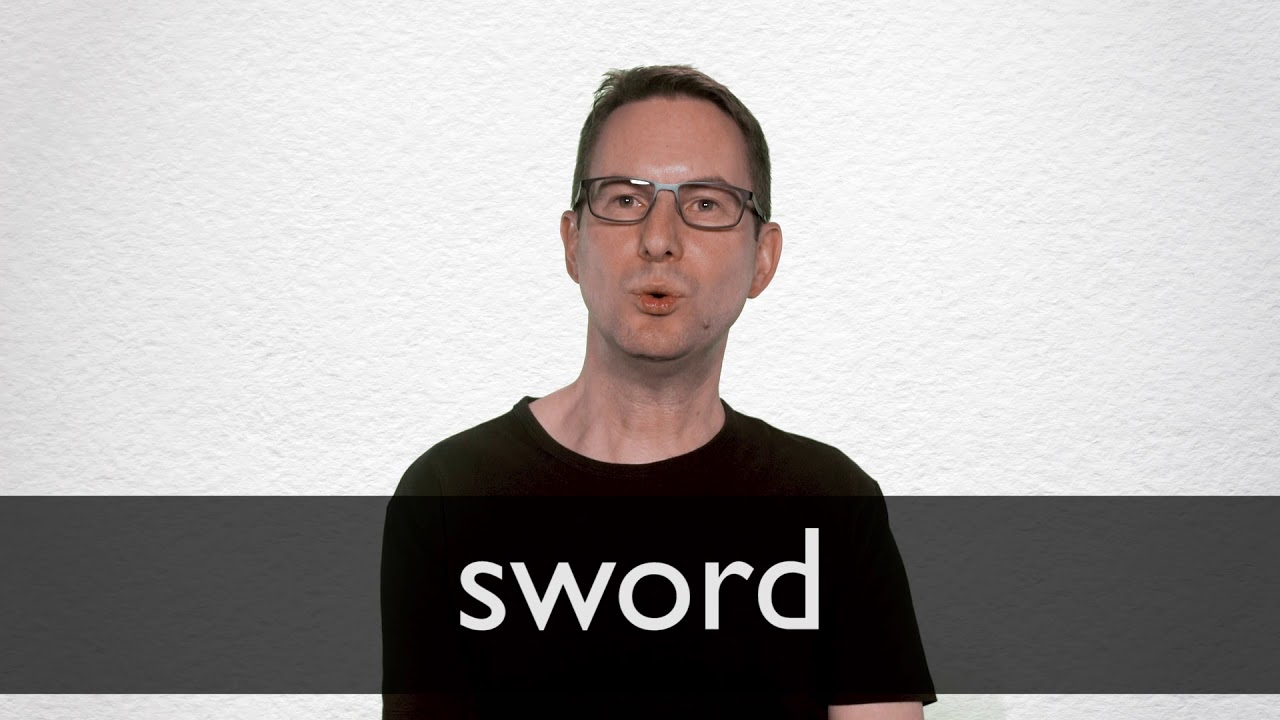 How to pronounce SWORD in British English