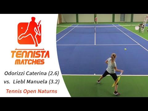 OPEN / Odorizzi Caterina (2.6) Vs.  Liebl Manuela (3.2)  [Highlights]