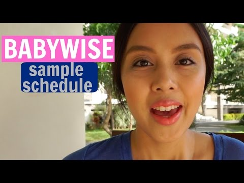 Babywise Sample Schedule (0-2 Months Old)