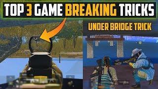 Top 3 Game Breaking Tricks of Pubg Mobile in Yasnaya,Bridge and Vikendi