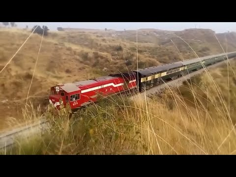 Traveling By Pakistan Railways Rawalpindi to Lahore Trains Route Journey Documentary 2017