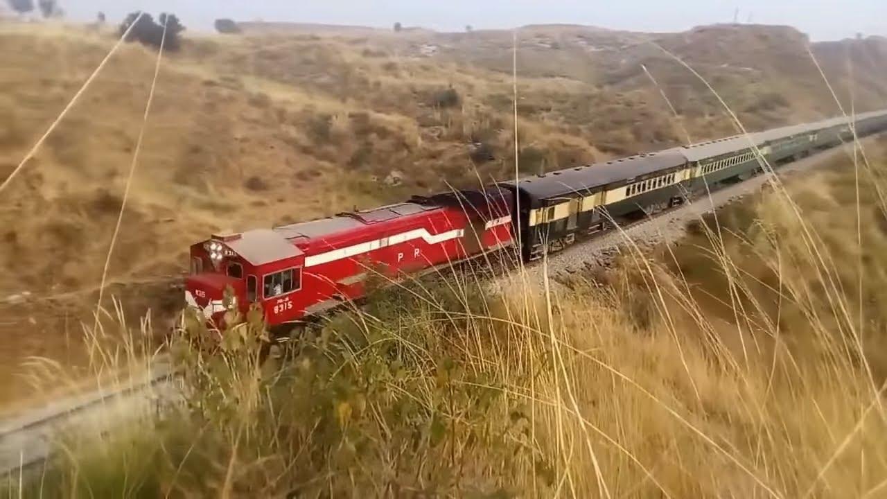 Railway Journey Rawalpindi to Lahore Traveling Pakistan by Train