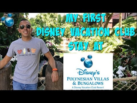 My First DISNEY VACATION CLUB (DVC) STAY at DISNEY'S POLYNESIAN RESORT!