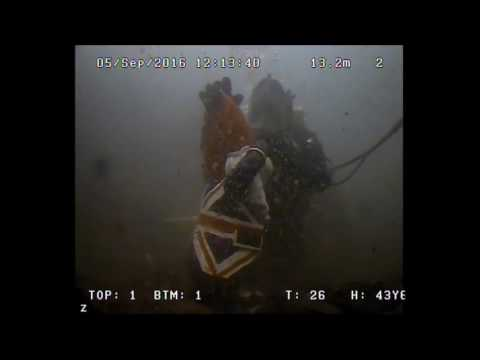 AC-ROV 100 training day with Police Scotland Dive and Marine unit