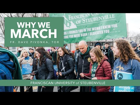 Franciscan University #WhyWeMarch