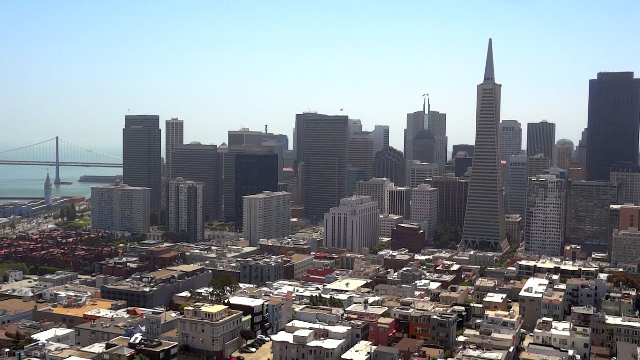 San Francisco - A View From Coit Tower