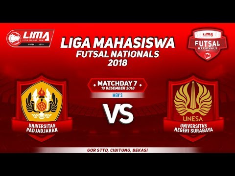 UNPAD VS UNESA MENS LIMA FUTSAL NATIONALS 2018