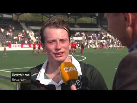 Reactie Seve van Ass na de wedstrijd Amsterdam - Rotterdam