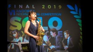 RUI OZAWA – FINAL ROUND – VI ANDORRA INTERNATIONAL SAXOPHONE COMPETITION 2019