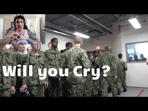 Reacting to the MOST PAINFUL parts of Navy Bootcamp - RTC Great Lakes
