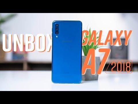 Mở Hộp Galaxy A7 2018: Samsung đang Thay đổi