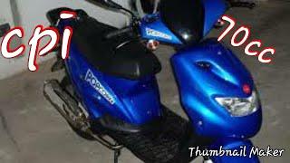 Moto cpi 50cc دراجة نارية من نوع سي بي اي