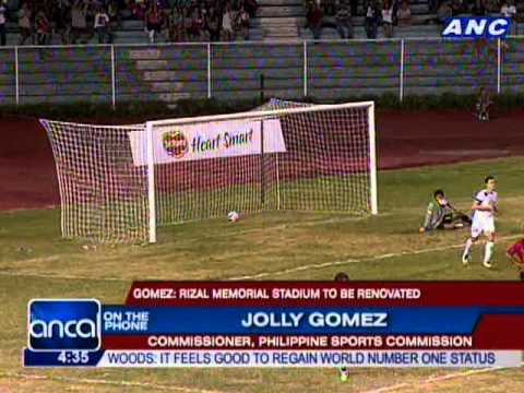PSC: Rizal Memorial stadium to be renovated