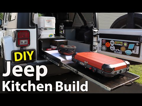 Jeep OVERLAND KITCHEN Drawer Build (Perfect Setup)