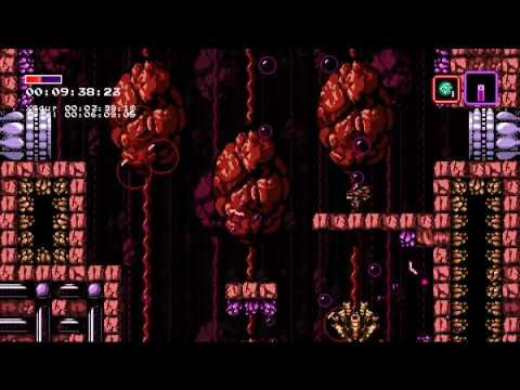 Axiom Verge any% speedrun in 34:57