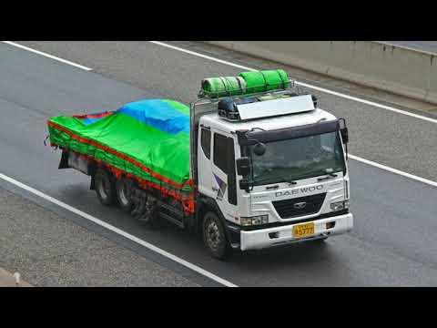 На каких грузовиках ездят в Южной Корее.