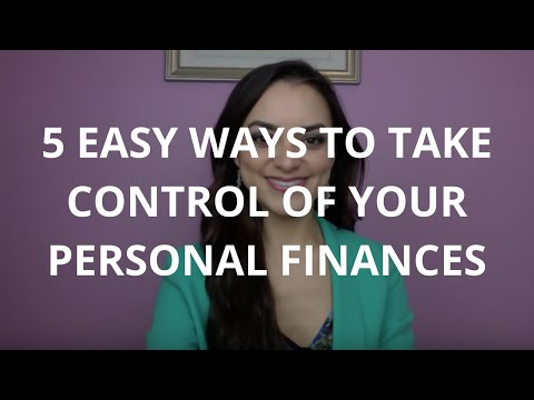 5 Easy Ways To Take Control of Your Personal Finances