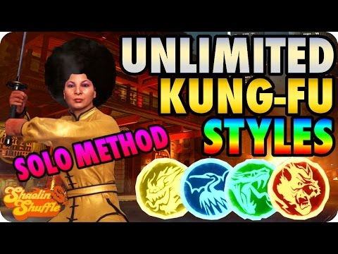 "Thumbnail: Shaolin Shuffle Glitches: Unlimited Kung Fu Styles + Abilities ""Solo Method"" - Infinite Warfare"