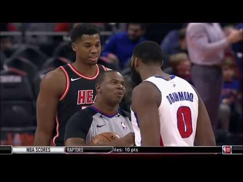November 12, 2017 - NBATV - Game 13 Miami Heat @ Detroit Pistons - Loss (06-07)(NBA Gametime)
