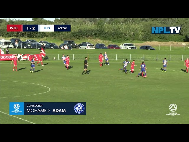 NPL NSW Men's Round 15 – Wollongong Wolves v Sydney Olympic