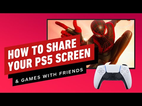 PS5: How to Game Share and Screen Share