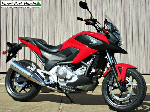 SOLD! 2014 Honda NC700X Adventure Bike - YouTube