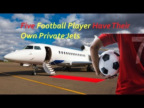 Five Football Player Have Their Own Private Jets