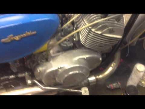 Suzuki T20 first run