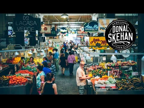 AMAZING LA FOOD MARKET! - VLOG Episode 17