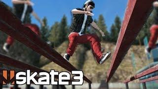 Skate 3: LONGEST HIPPY JUMP CHALLENGE!?