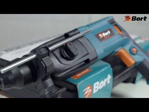 Обзор перфораторов BORT BHD-650 и BORT BHD-720