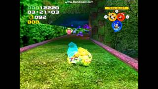 Sonic Heroes Ingame Super/Hyper transformation