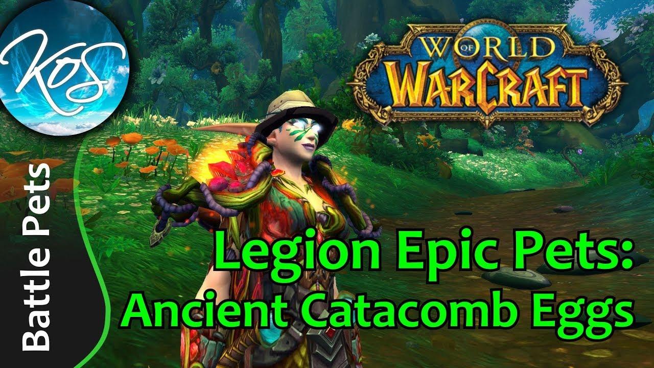 World Of Warcraft Ancient Catacomb Eggs Legion Pet Battles