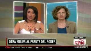 USLCC President Sara Bronfman talks to CNN en Español about Libya