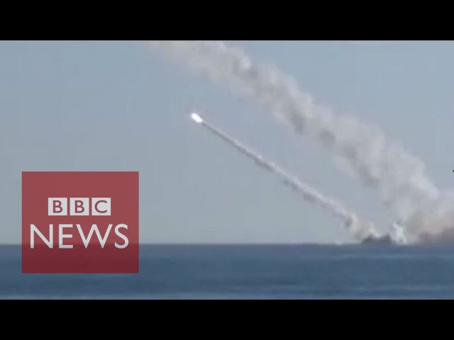Russia releases submarine missile footage - BBC News
