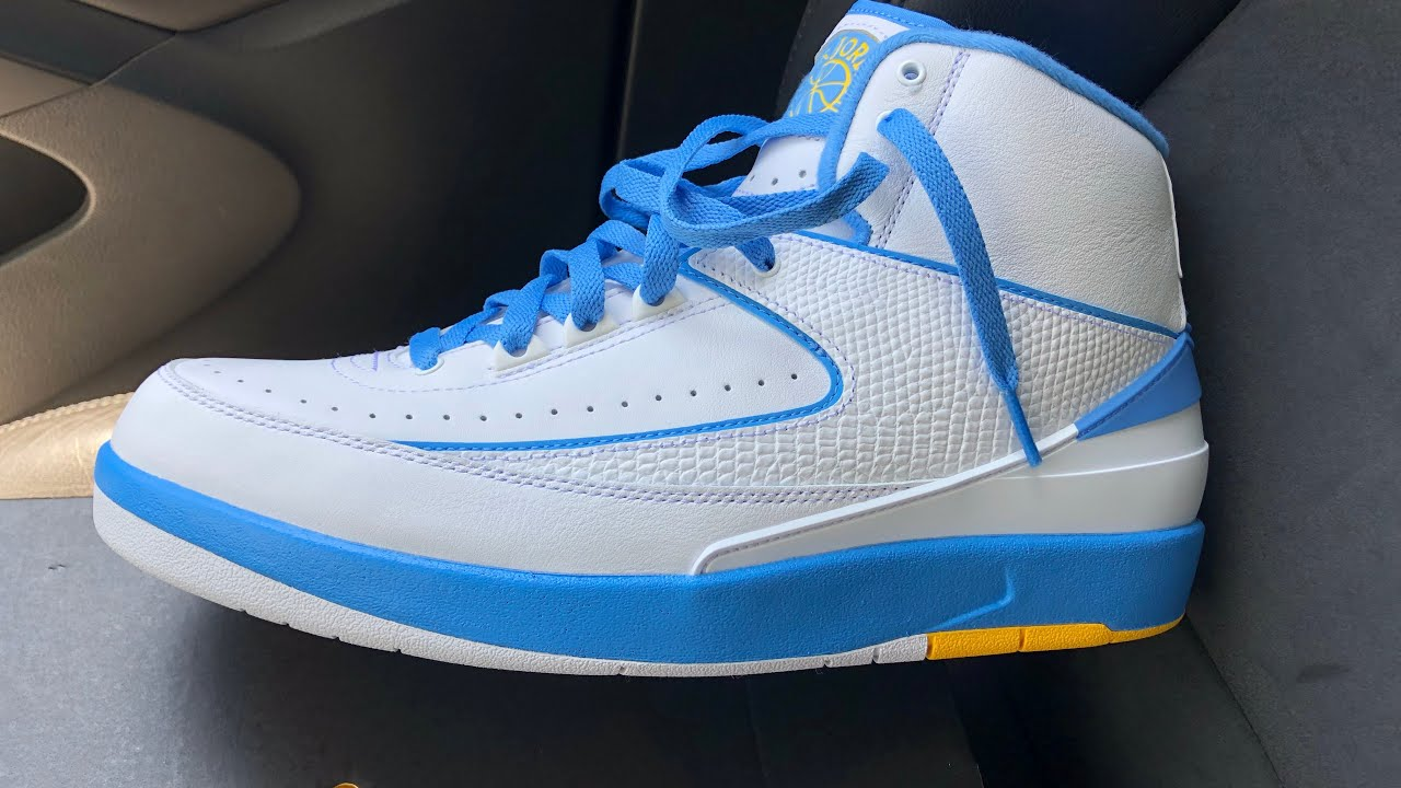 cheap for discount 4cc0a 6db7b Air Jordan retro 2 MELO PE| UNBOXING & ON FEET REVIEW