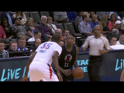 Kevin Durant Duels Jamal Crawford in Oklahoma City