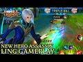 New Hero Ling Gameplay - Mobile Legends Bang Bang