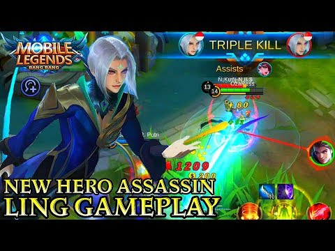 New Hero Ling Gameplay - Mobile Legends Bang Bang