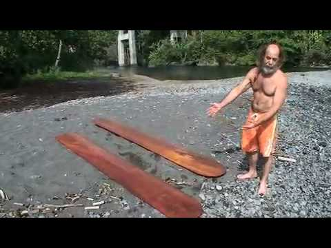 Surfing with Koa Surfboards by jeff Roth with Bradda Skibs